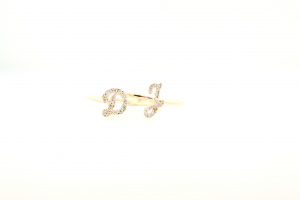 Diamond Initial Rings