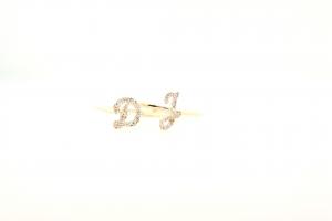 Diamond Initial Rings