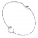 Diamond Initial Bracelets